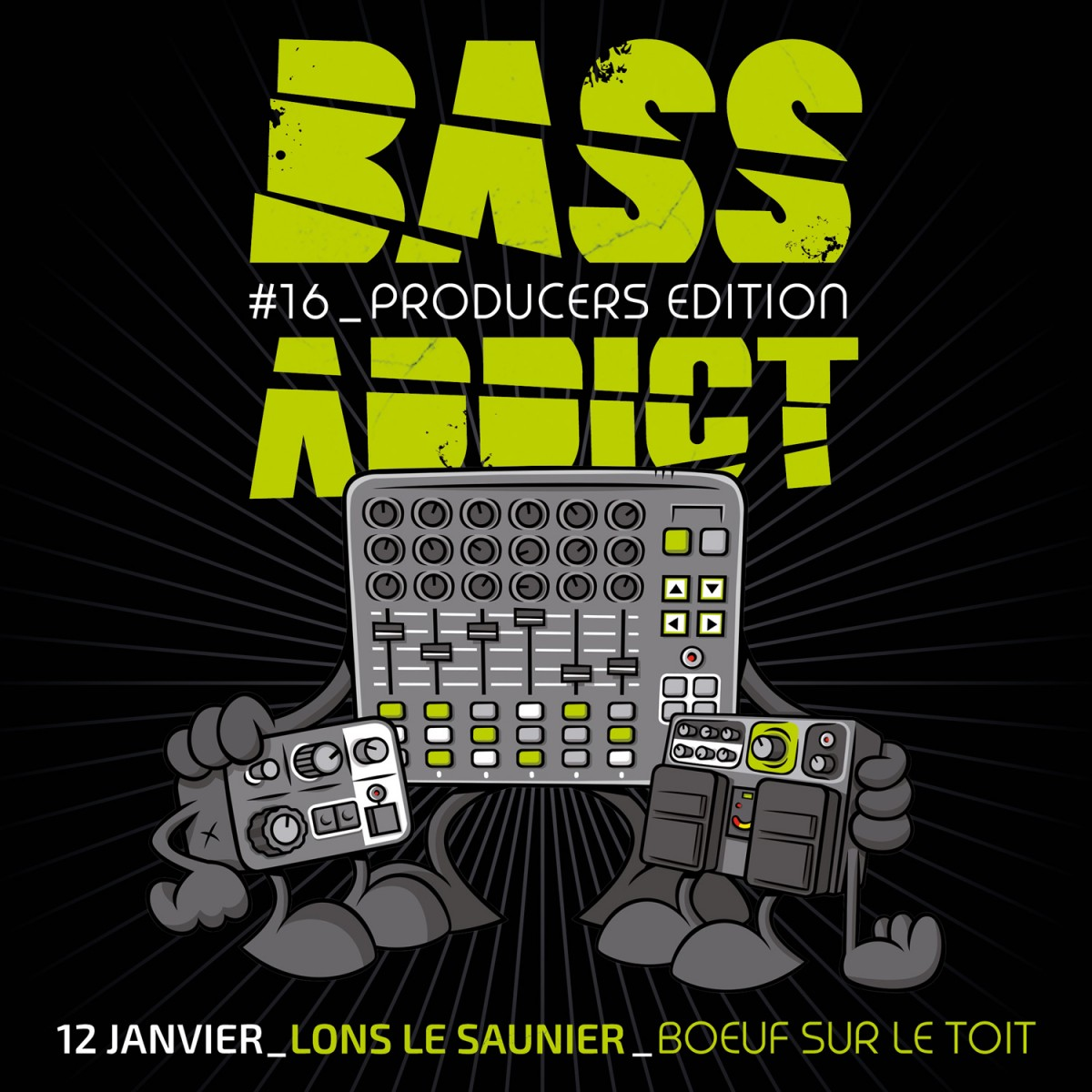 BASS ADDICT # 16 // Producers Edition