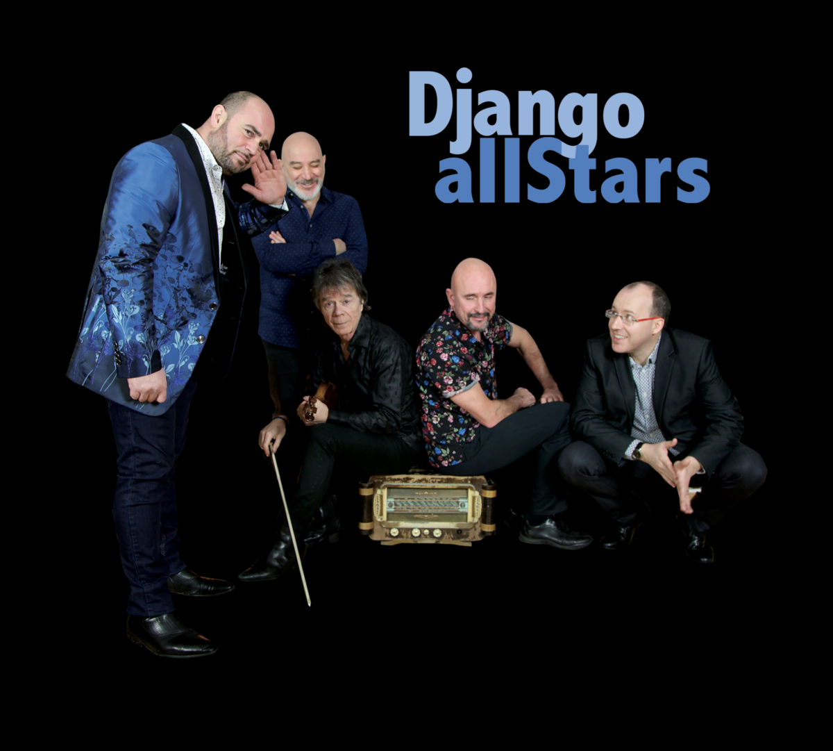 The Django All-Stars - COULEURS JAZZ